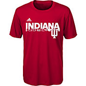 adidas Youth Indiana Hoosiers Crimson On-Court Ultimate Short Sleeve T-Shirt