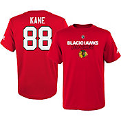 adidas Youth Chicago Blackhawks Patrick Kane #88 Red T-Shirt