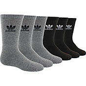adidas Kids' Originals Trefoil Crew Socks 6 Pack