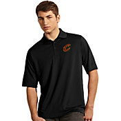 Antigua Men's Cleveland Cavaliers Exceed Black Polo