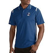 Antigua Men's Creighton Bluejays Merit Xtra-Lite White Polo