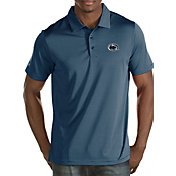 Antigua Men's Penn State Nittany Lions Blue Quest Polo