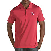 Antigua Men's Rutgers Scarlet Knights Scarlet Quest Polo
