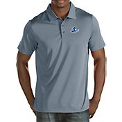 Antigua Men's Seton Hall Seton Hall Pirates Grey Quest Polo