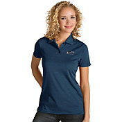 Antigua Women's Utah Jazz Xtra-Lite Navy Quest Performance Polo