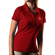 Antigua Women's Georgia Bulldogs Red 2018 College Football Playoff National Championship Bound Pique Performance Polo