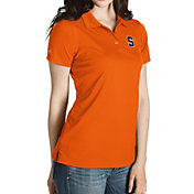 Antigua Women's Syracuse Orange Orange Inspire Performance Polo