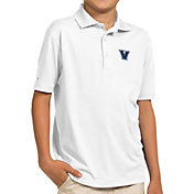Antigua Youth Villanova Wildcats White Pique Polo