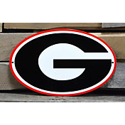 Authentic Street Signs Georgia Bulldogs Steel Logo Sign