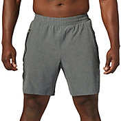 SECOND SKIN Men's Woven Heather Training Shorts