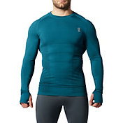 SECOND SKIN Men's Seamless Fitted Long Sleeve Top