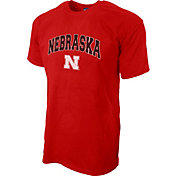 Blue 84 Men's Nebraska Cornhuskers Scarlet T-Shirt