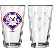 Boelter Philadelphia Phillies 16oz. Satin Etched Pint Glass