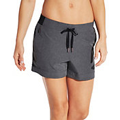 CALIA by Carrie Underwood Women's Anywhere Cuff Heather Shorts