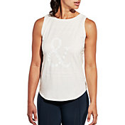 CALIA by Carrie Underwood Women's Flow Stay Patient Graphic Muscle Tank Top