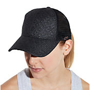 CALIA by Carrie Underwood Women's Straw Mesh Trucker Hat