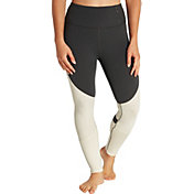 CALIA by Carrie Underwood Women's Limited Edition Onyx Heather Velvet Pieced Leggings