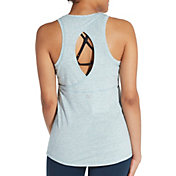 CALIA by Carrie Underwood Women's Heather Keyhole Tank Top