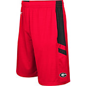 Colosseum Athletics Men's Georgia Bulldogs Red Setter Shorts