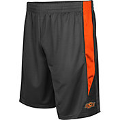 Colosseum Men's Oklahoma State Cowboys Grey Turn Over Shorts