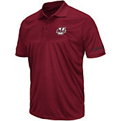 Colosseum Men's UMass Minutemen Maroon Performance Polo