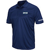 Colosseum Men's UNC-Wilmington Seahawks Blue Performance Polo