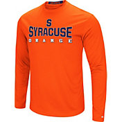 Colosseum Women's Syracuse Orange Orange Streamer Long Sleeve T-Shirt