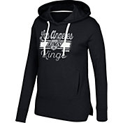 CCM Women's Los Angeles Kings Bottom Stripe Black Pullover Hoodie