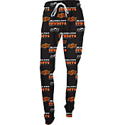 Concepts Sport Women's Oklahoma State Cowboys Black Slide Sleep Pants