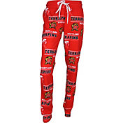 Concepts Sport Women's Maryland Terrapins Red Slide Sleep Pants