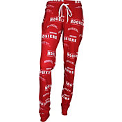 Concepts Sport Women's Indiana Hoosiers Crimson Slide Sleep Pants