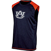 Champion Men's Auburn Tigers Blue Muscle Tee