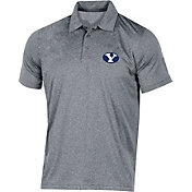 Champion Men's BYU Cougars Grey Classic Polo
