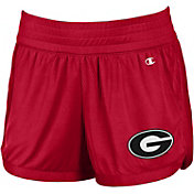 Champion Women's Georgia Bulldogs Red Endurance Shorts