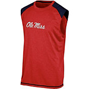 Champion Men's Ole Miss Rebels Red Muscle Tee
