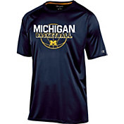 Champion Men's Michigan Wolverines Blue Training T-Shirt