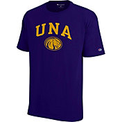 Champion Men's North Alabama Lions Purple T-Shirt