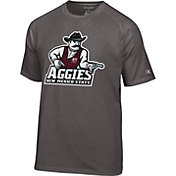 Champion Men's New Mexico State Aggies Grey Big Logo T-Shirt