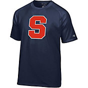 Champion Men's Syracuse Orange Blue Big Logo T-Shirt