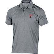 Champion Men's Texas Tech Red Raiders Grey Classic Polo