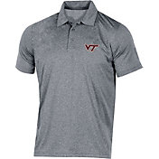 Champion Men's Virginia Tech Hokies Grey Classic Polo