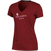 Champion Women's Oklahoma Sooners Crimson Success V-Neck T-Shirt