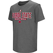 Colosseum Athletics Youth Florida State Seminoles Garnet Dual-Blend Basketball T-Shirt