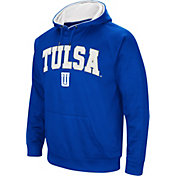 Colosseum Men's Tulsa Golden Hurricane Blue Fleece Hoodie