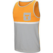 Colosseum Men's Tennessee Volunteers Tennesse Orange/Grey Lollygaggers Tank Top