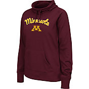 Colosseum Women's Minnesota Golden Gophers Maroon Funnel Neck Fleece Pullover