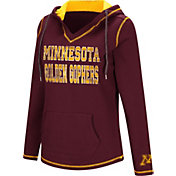Colosseum Women's Minnesota Golden Gophers Maroon Spike Fleece Hoodie