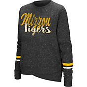 Colosseum Women's Missouri Tigers Black Birdie Fleece Pullover