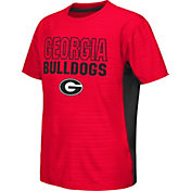 Colosseum Athletics Youth Georgia Bulldogs Red Vault T-Shirt