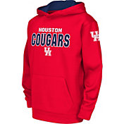 Colosseum Youth Houston Cougars Red Fleece Hoodie